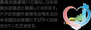 日本全国受付対応