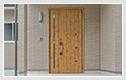 木製ドアのイメージ
